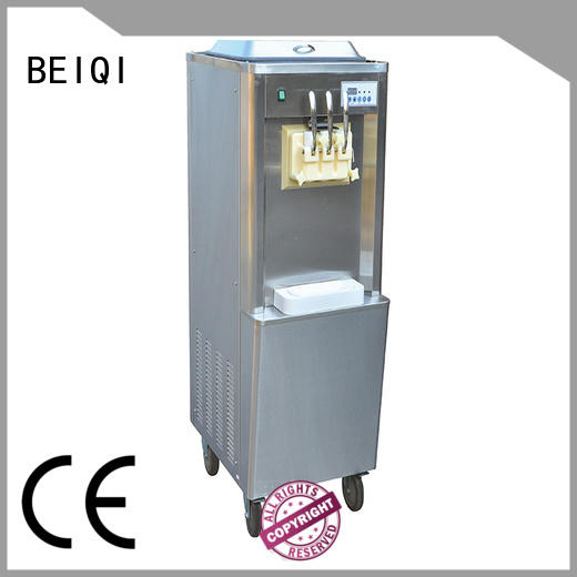 BEIQI solid mesh Soft Ice Cream Machine for sale bulk production Frozen food Factory
