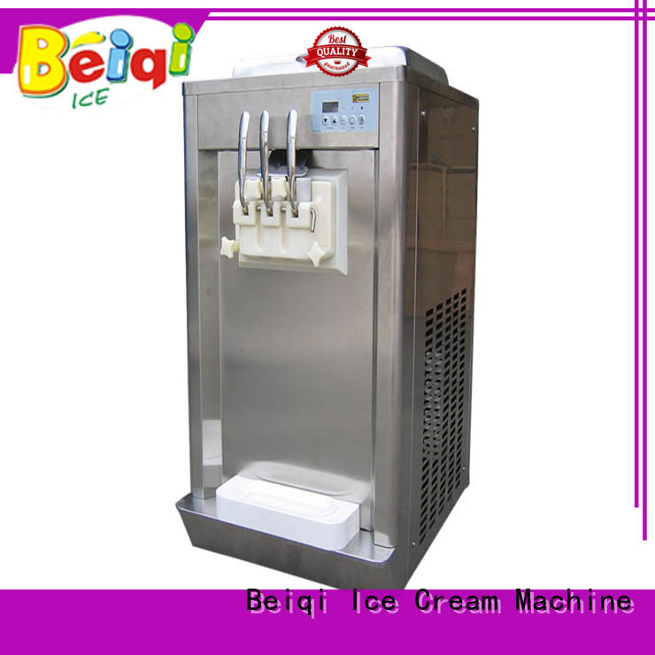 BEIQI funky Soft Ice Cream Machine for sale buy now Frozen food Factory