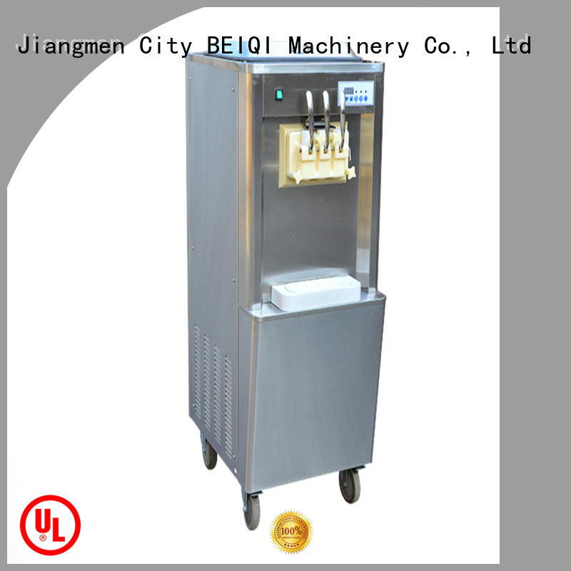 solid mesh soft serve ice cream machine commercial use ODM For Restaurant
