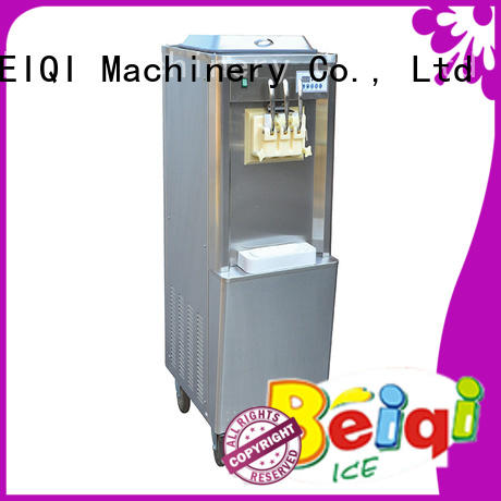 BEIQI durable Three flavors Soft Ice Cream Machine different flavors For dinning hall
