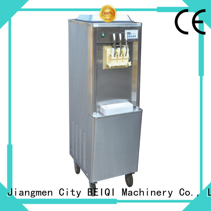 silver Soft Ice Cream maker customization For Restaurant BEIQI