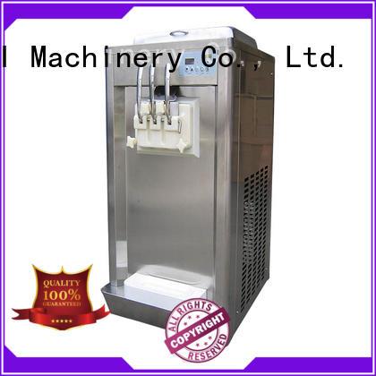 BEIQI silver soft serve ice cream machine buy now Frozen food factory