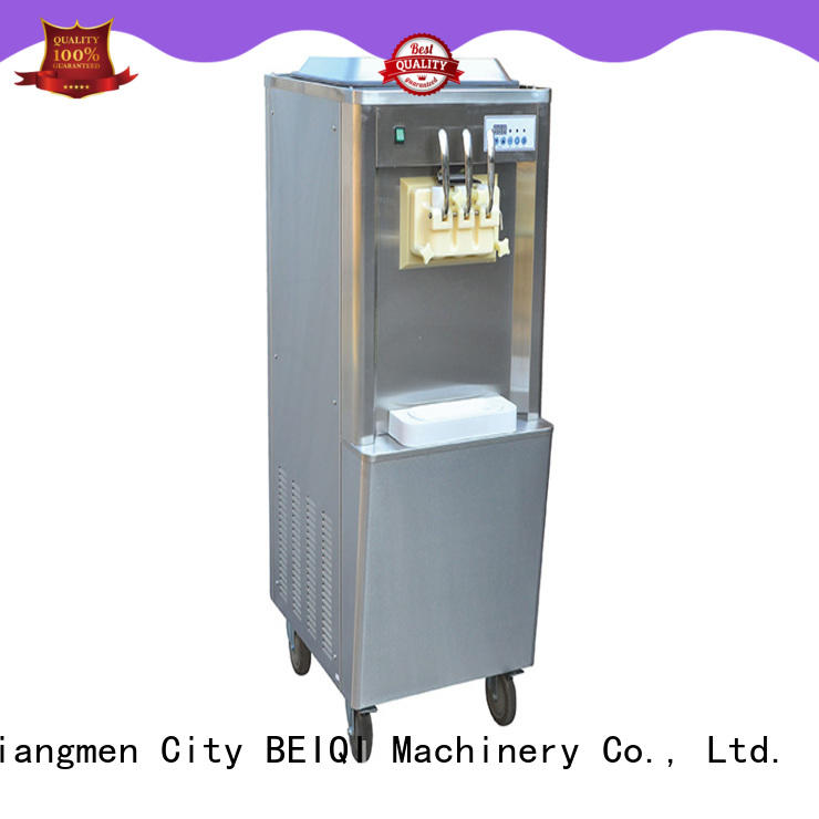 BEIQI solid mesh Soft Ice Cream Machine customization For commercial