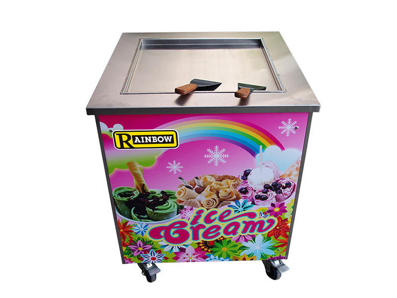 BEIQI funky Fried Ice Cream making Machine for wholesale Frozen food factory-2