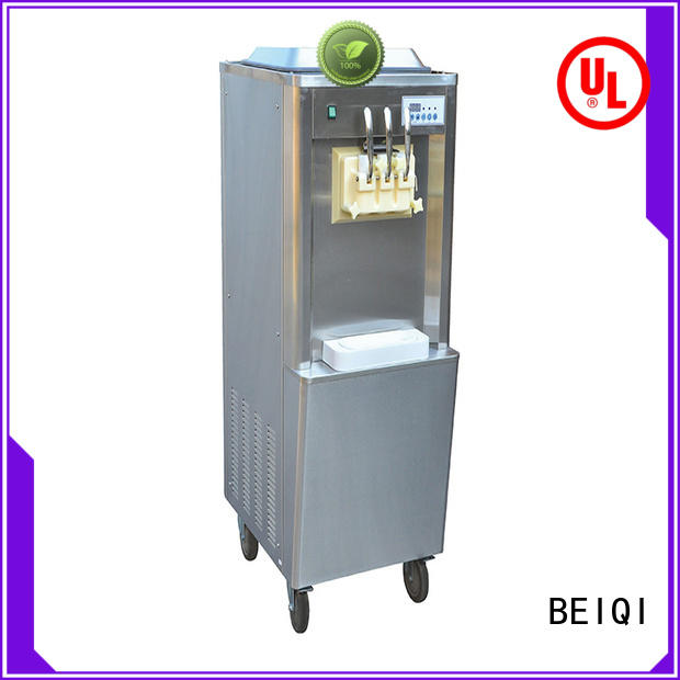 funky Soft Ice Cream Machine for salebuy now Snack food factory
