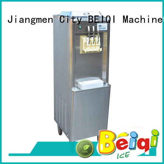 BEIQI solid mesh Soft Ice Cream Machine for sale supplier Snack food factory