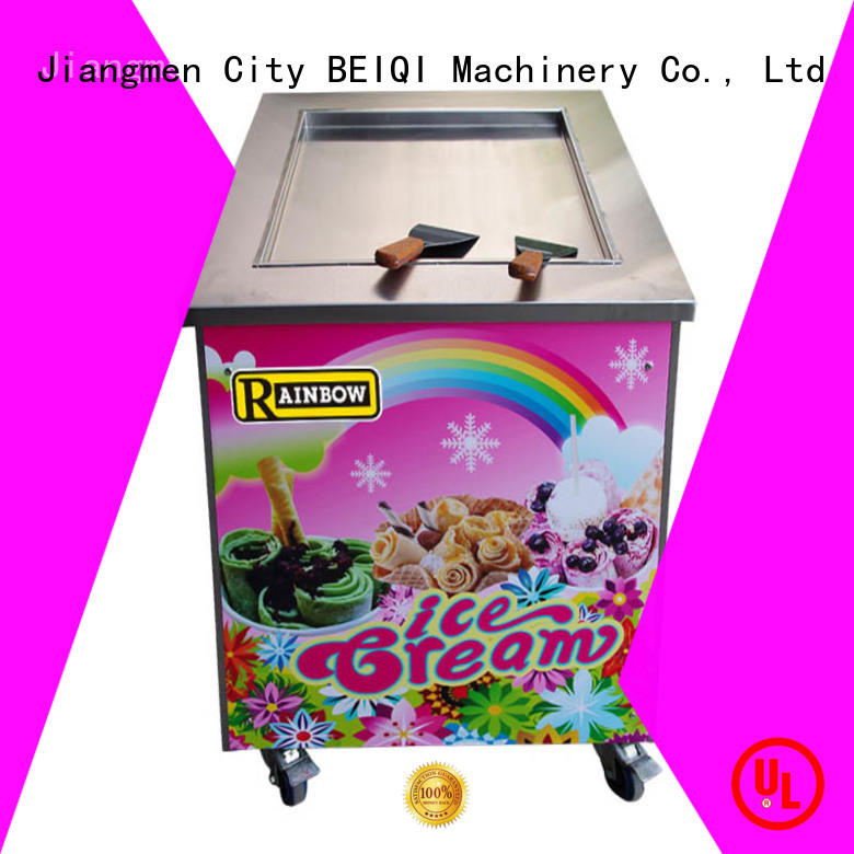 BEIQI solid mesh Fried Ice Cream Maker ODM For dinning hall