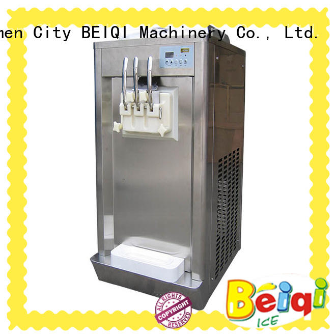 solid mesh Ice Cream Machine Supplier silver OEM For dinning hall