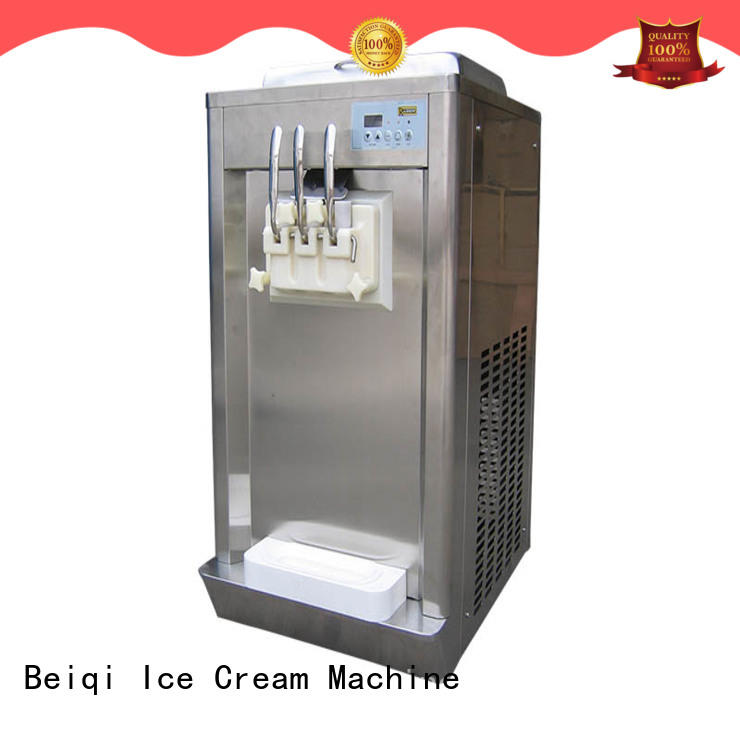 on-sale commercial ice cream making machine silver customization Snack food factory