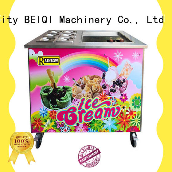 BEIQI different flavors Fried Ice Cream Machine supplier For commercial