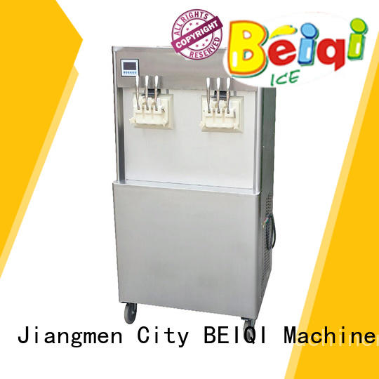 BEIQI different flavors Soft Ice Cream maker ODM Snack food factory