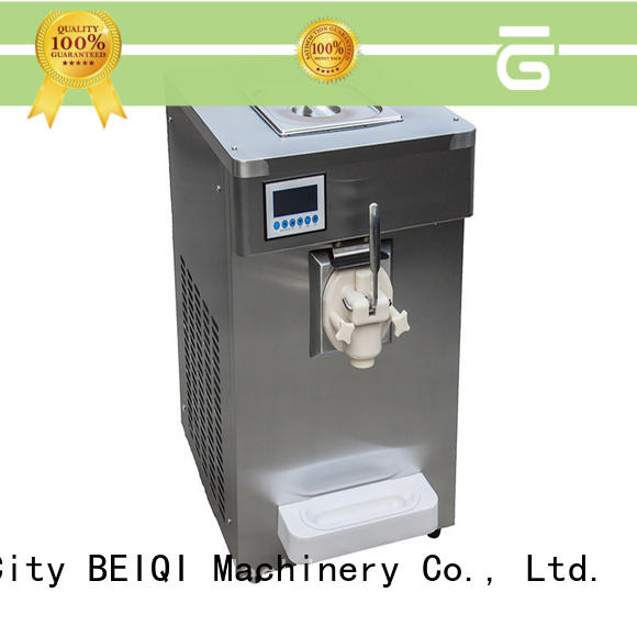 BEIQI different flavors soft serve ice cream machine for sale get quote Snack food factory