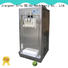 BEIQI solid mesh noise control Soft Ice Cream Machine silver For commercial