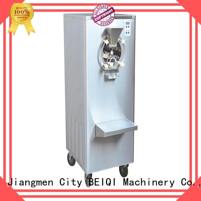 BEIQI Breathable hard ice cream freezer OEM Snack food factory