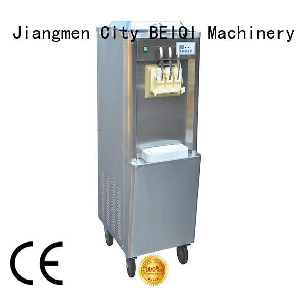 BEIQI different flavors buy soft serve ice cream machine customization Snack food factory