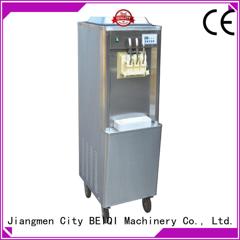 BEIQI different flavors ice cream maker machine bulk production Snack food factory