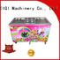 BEIQI different flavors Fried Ice Cream making Machine get quote Snack food factory