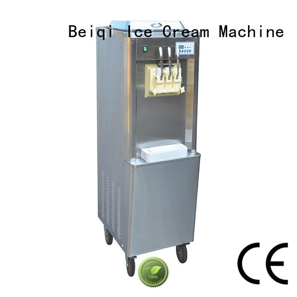 BEIQI funky Soft Ice Cream Machine for sale supplier Snack food factory
