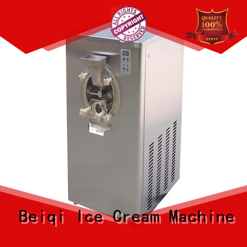 BEIQI different flavors hard ice cream freezer get quote Snack food factory