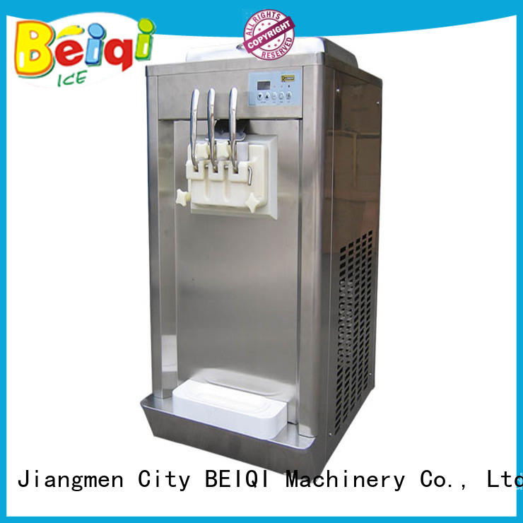 solid mesh Ice Cream Machine Company different flavors ODM For Restaurant