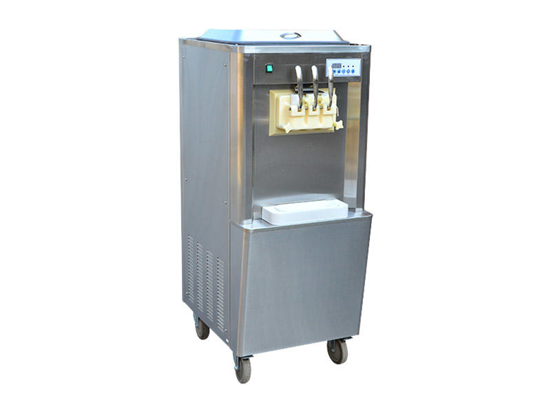 BEIQI different flavors Manufacturer supply Commercial Soft Ice Cream Machine OEM Snack food factory-1