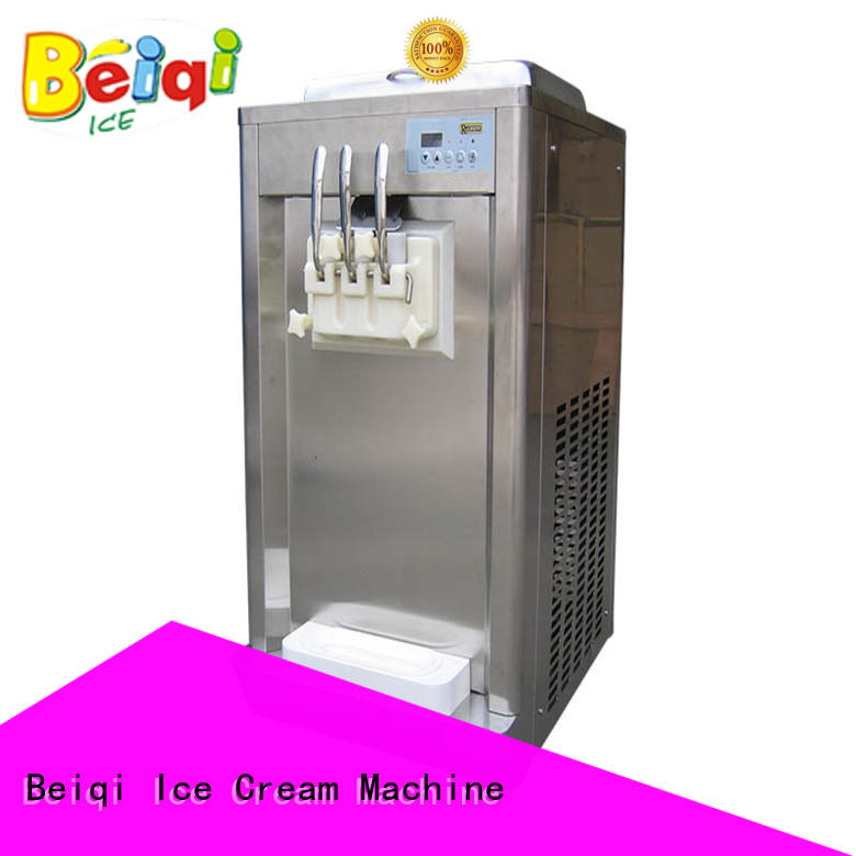 BEIQI different flavors Soft Ice Cream maker bulk production For dinning hall