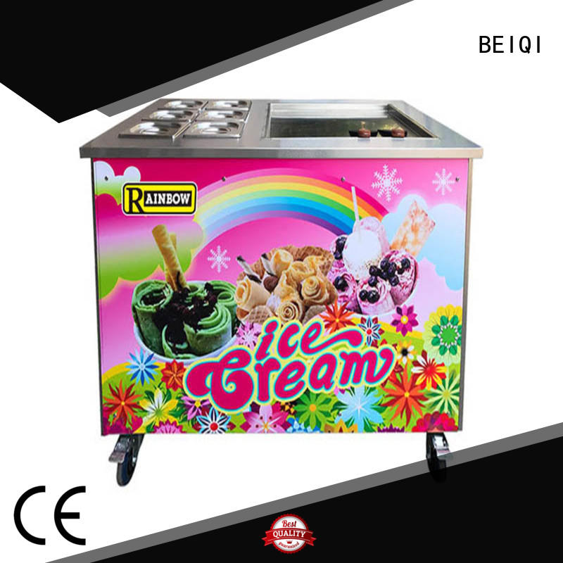 BEIQI high-quality Soft Ice Cream Machine for sale supplier Snack food factory