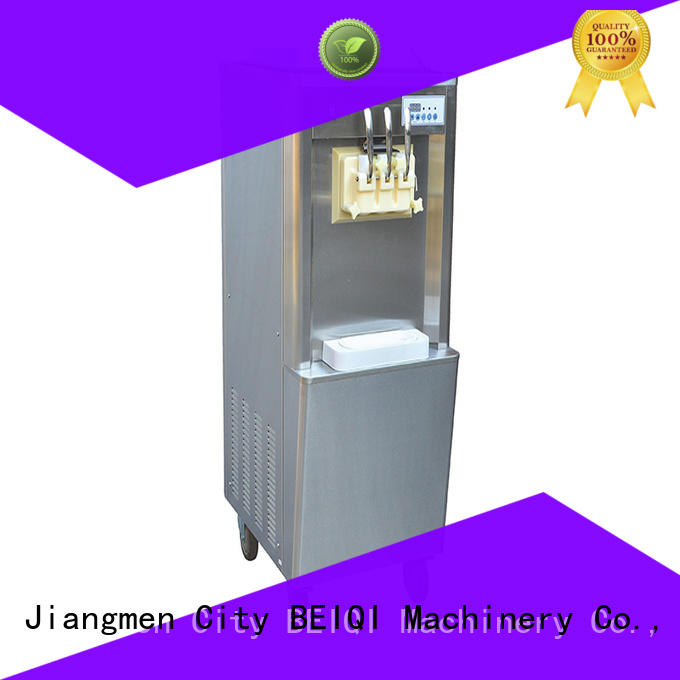 BEIQI portable Soft Ice Cream Machine for sale supplier Snack food factory