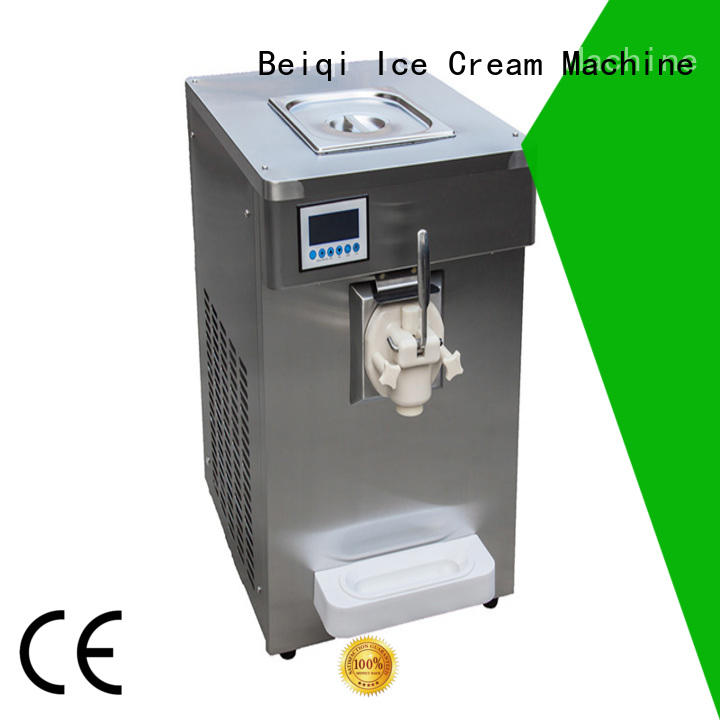 BEIQI silver ice cream machine price for wholesale For Restaurant