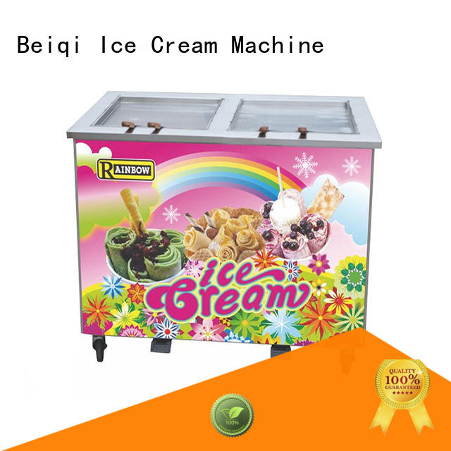 BEIQI at discount Fried Ice Cream Machine for wholesale For dinning hall