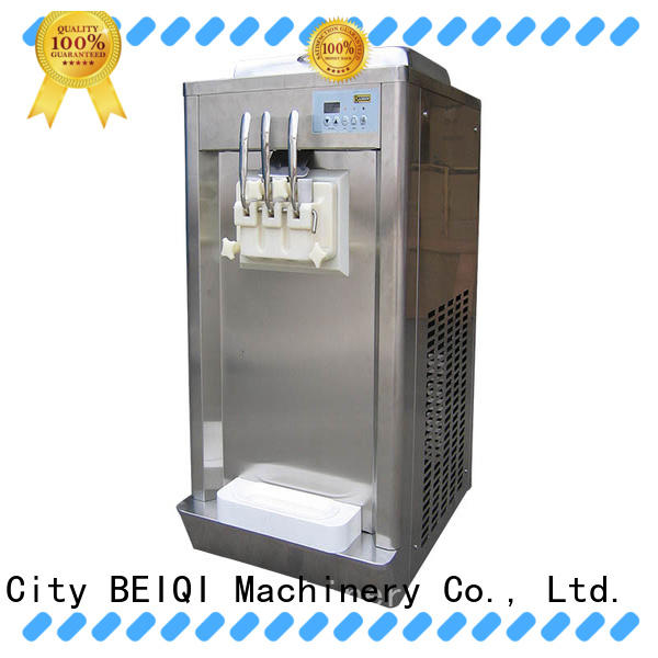 BEIQI Soft Ice Cream Machine for sale OEM Frozen food Factory