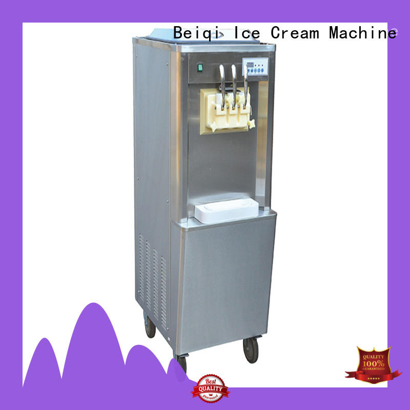 on-sale Soft Ice Cream maker silver OEM Snack food factory