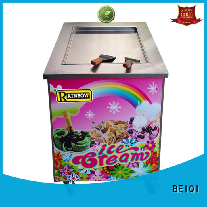 BEIQI Soft Ice Cream Machine for sale free sample Snack food factory