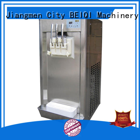 BEIQI at discount Soft Ice Cream Machine for sale Snack food factory