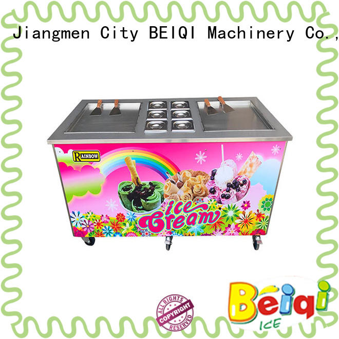 portable Fried Ice Cream Machine silver get quote Snack food factory