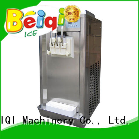 BEIQI silver Soft Ice Cream maker supplier For dinning hall