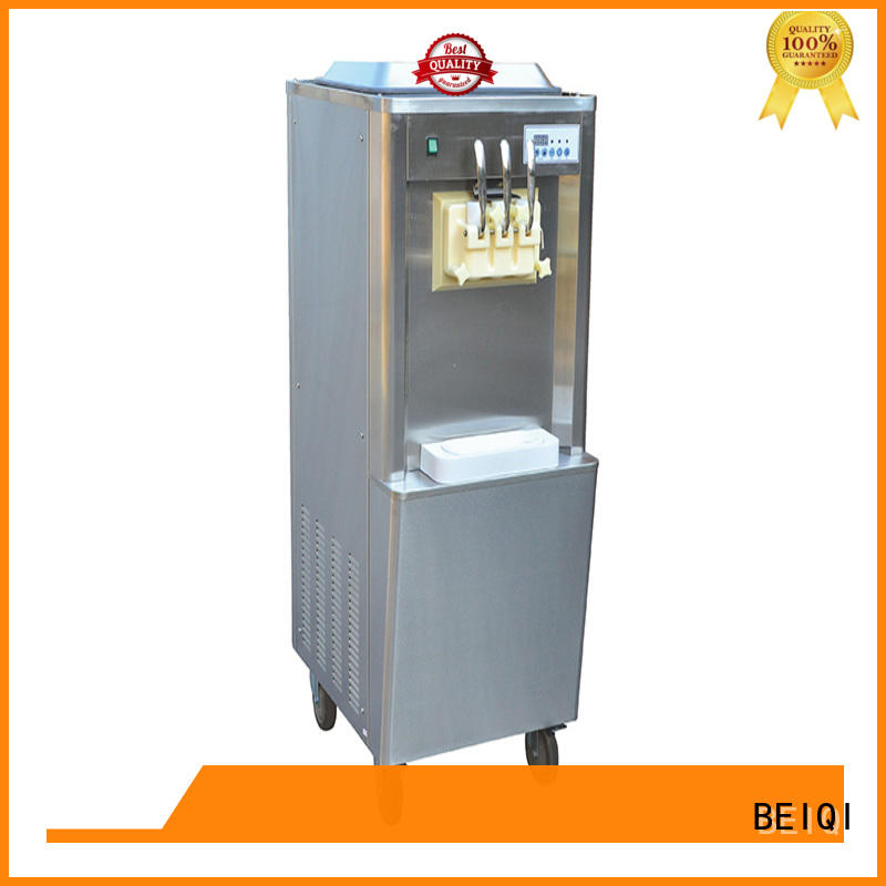 solid mesh Soft Ice Cream Machine for sale bulk production Frozen food Factory