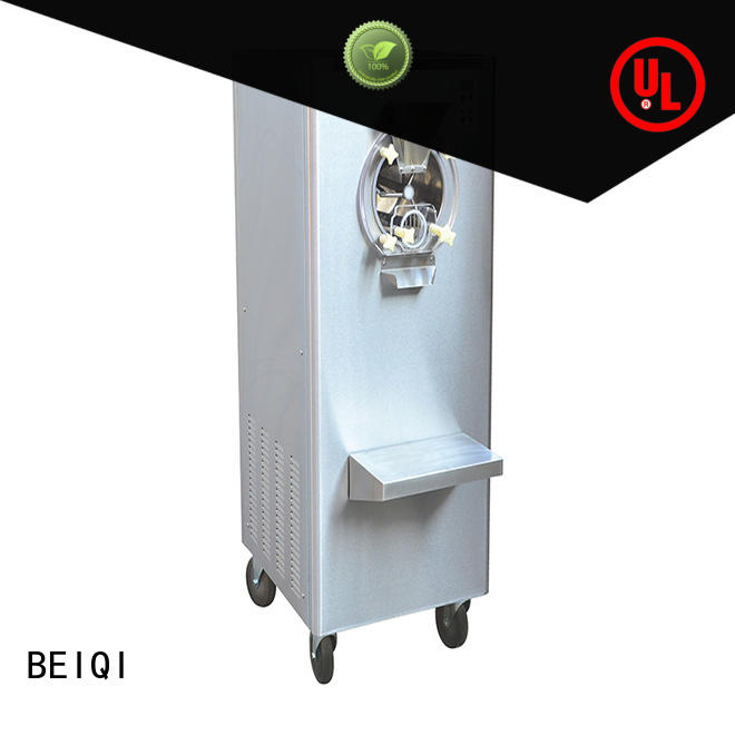 solid mesh Soft Ice Cream Machine for sale OEM Snack food factory