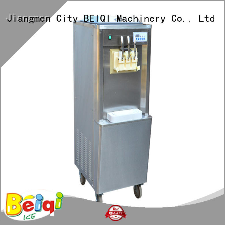 commercial use Manufacturer supply Commercial Soft Ice Cream Machine different flavors Frozen food factory BEIQI