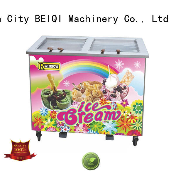 BEIQI soft Ice Cream Machine bulk production Snack food factory