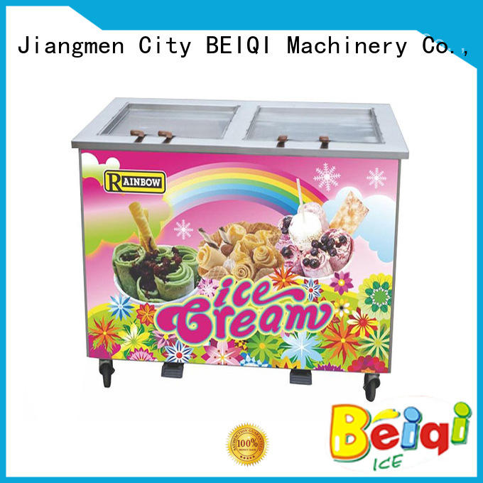 at discount Fried Ice Cream Maker silver OEM For Restaurant