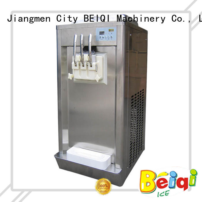 BEIQI commercial use ice cream machine price customization For dinning hall