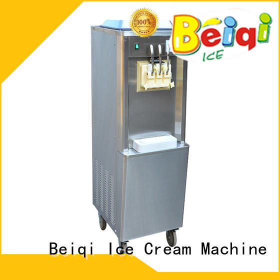 solid mesh soft serve ice cream machine commercial use ODM Frozen food factory