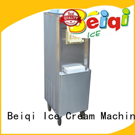 BEIQI solid mesh Soft Ice Cream Machine for sale buy now Frozen food Factory