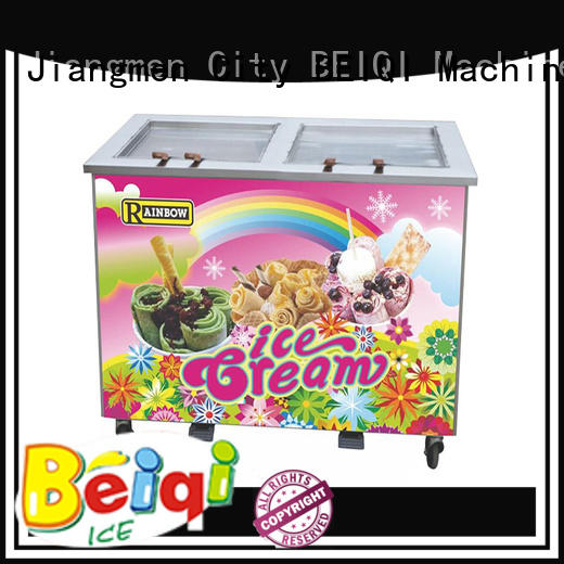 BEIQI different flavors Fried Ice Cream Machine bulk production For commercial