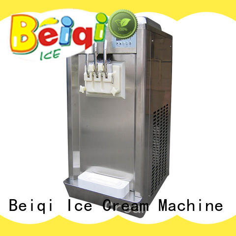BEIQI silver Soft Ice Cream maker OEM For dinning hall