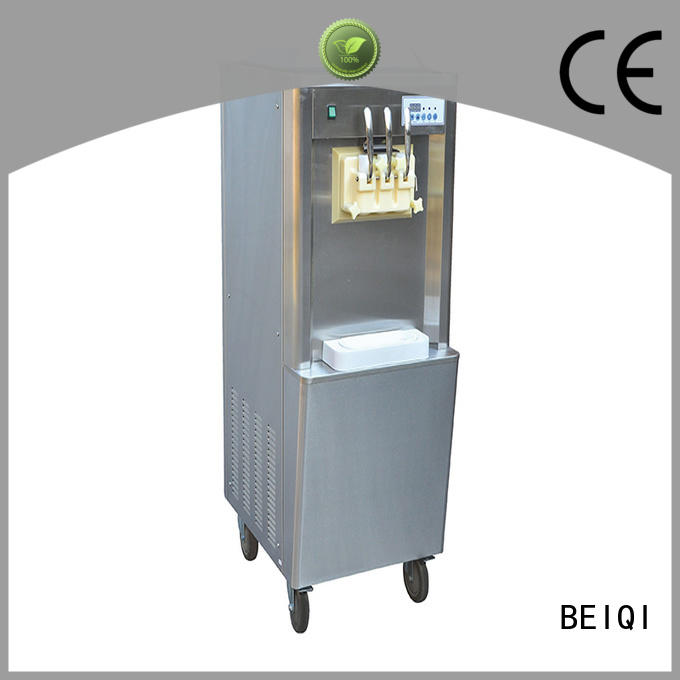 BEIQI latest commercial soft serve ice cream maker for wholesale Snack food factory