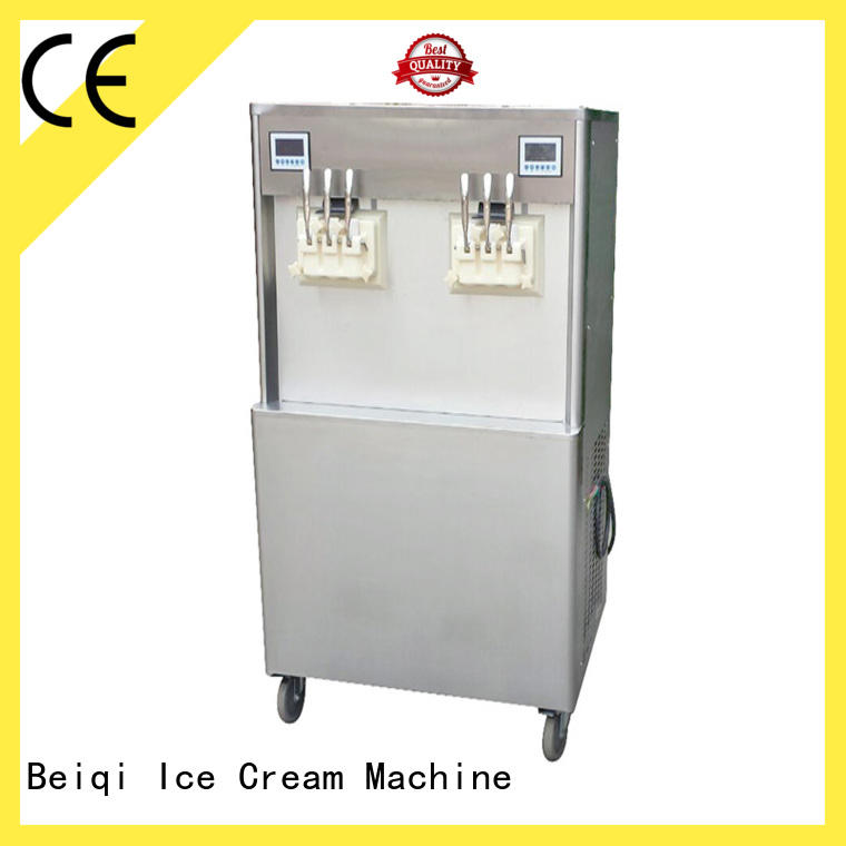 BEIQI silver Ice Cream Machine Supplier bulk production For Restaurant
