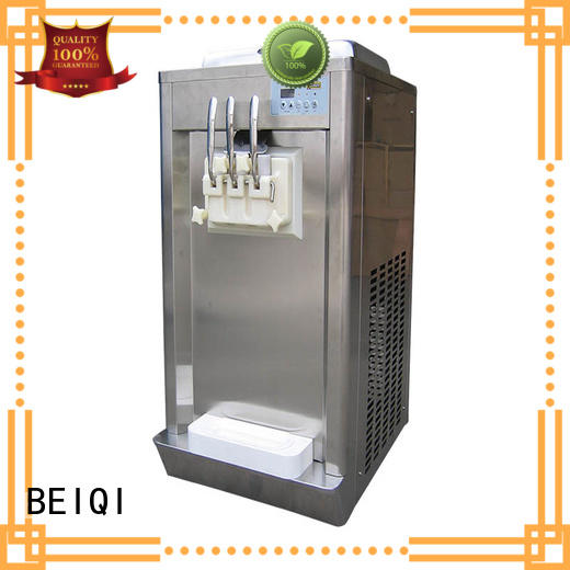 BEIQI durable Soft Ice Cream Machine for sale get quote Snack food factory