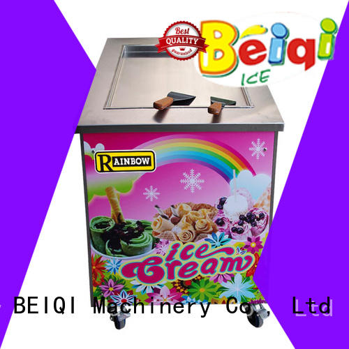 BEIQI on-sale Fried Ice Cream Maker for wholesale Frozen food factory